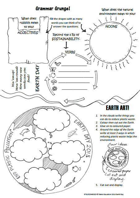 Earth Day Worksheets And Teaching Notes