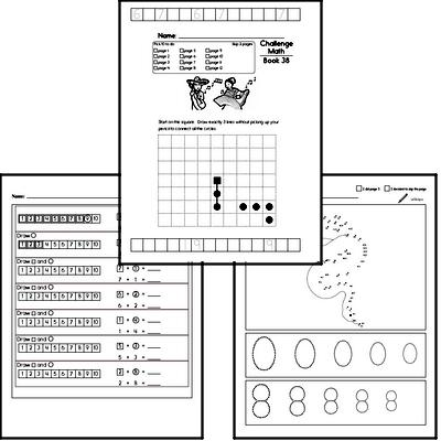 Free Kindergarten Pdf Math Worksheets