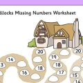 Worksheets For Missing Numbers